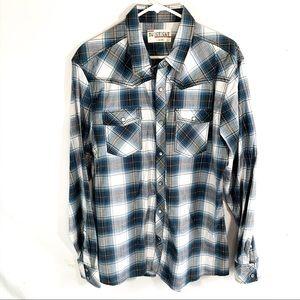 💥No retreat western style flannel shirt